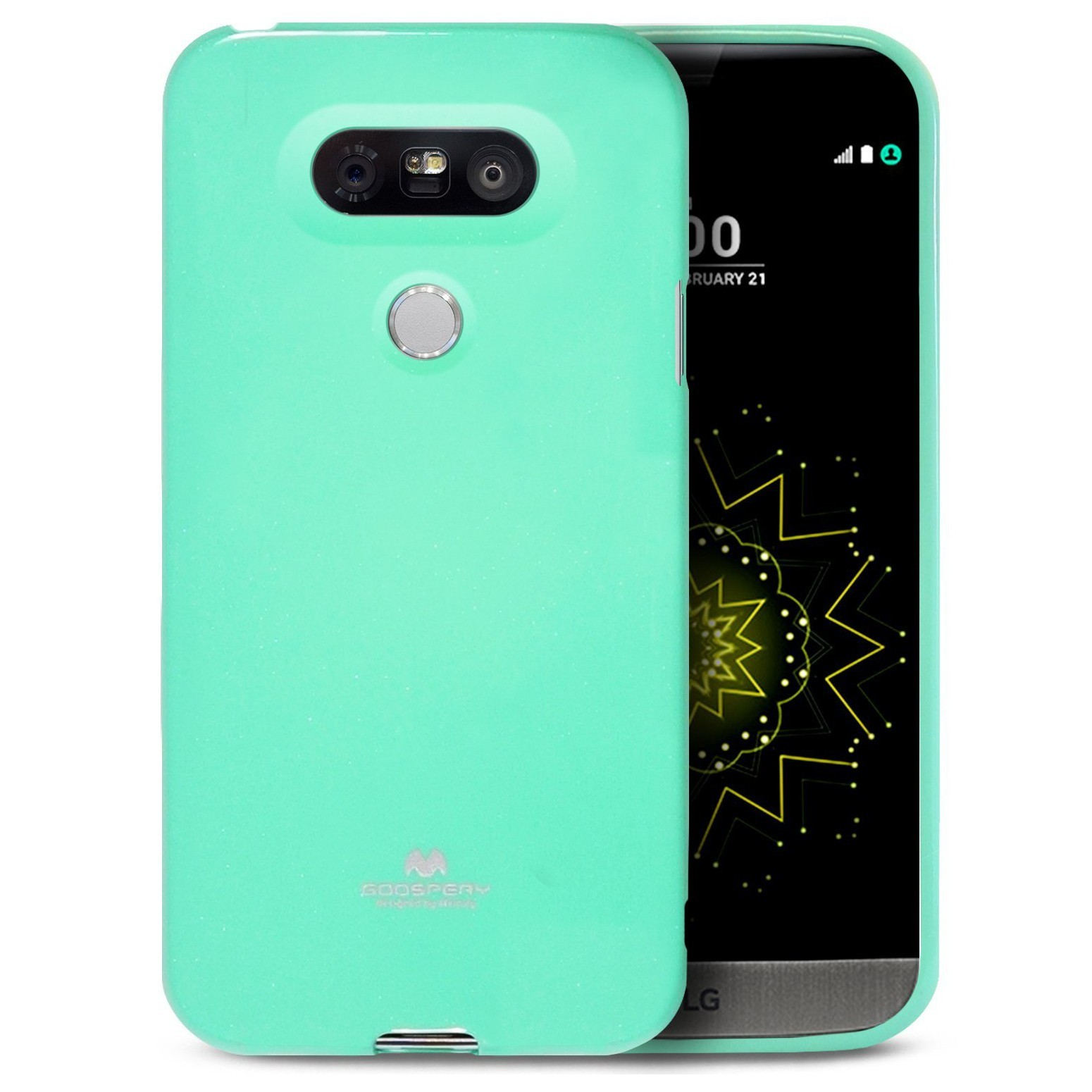 TPU gel ovitek Goospery Jelly Case za LG G5 - mint