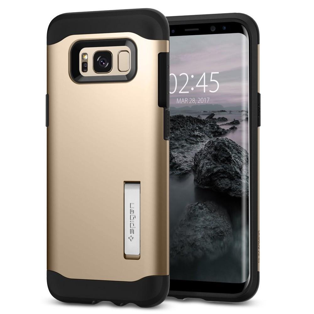 Ovitek Spigen Slim Armor Za Samsung Galaxy S8 Plus Gold Maple Goospery Hybrid Dream Bumper Case Silver