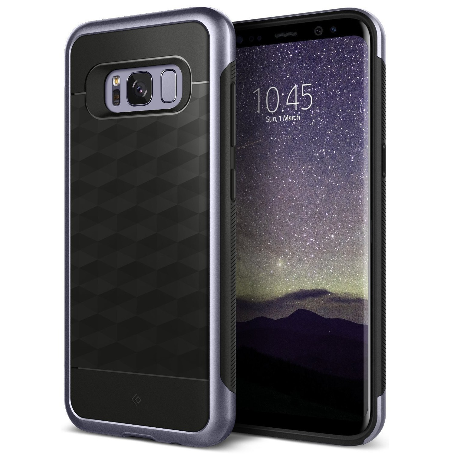 Ovitek Caseology Parallax Series za Samsung Galaxy S8 Plus - orchid gray