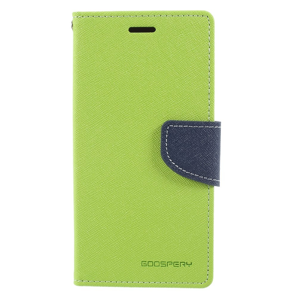 Etui Goospery Fancy Diary za iPhone X / XS - zelen