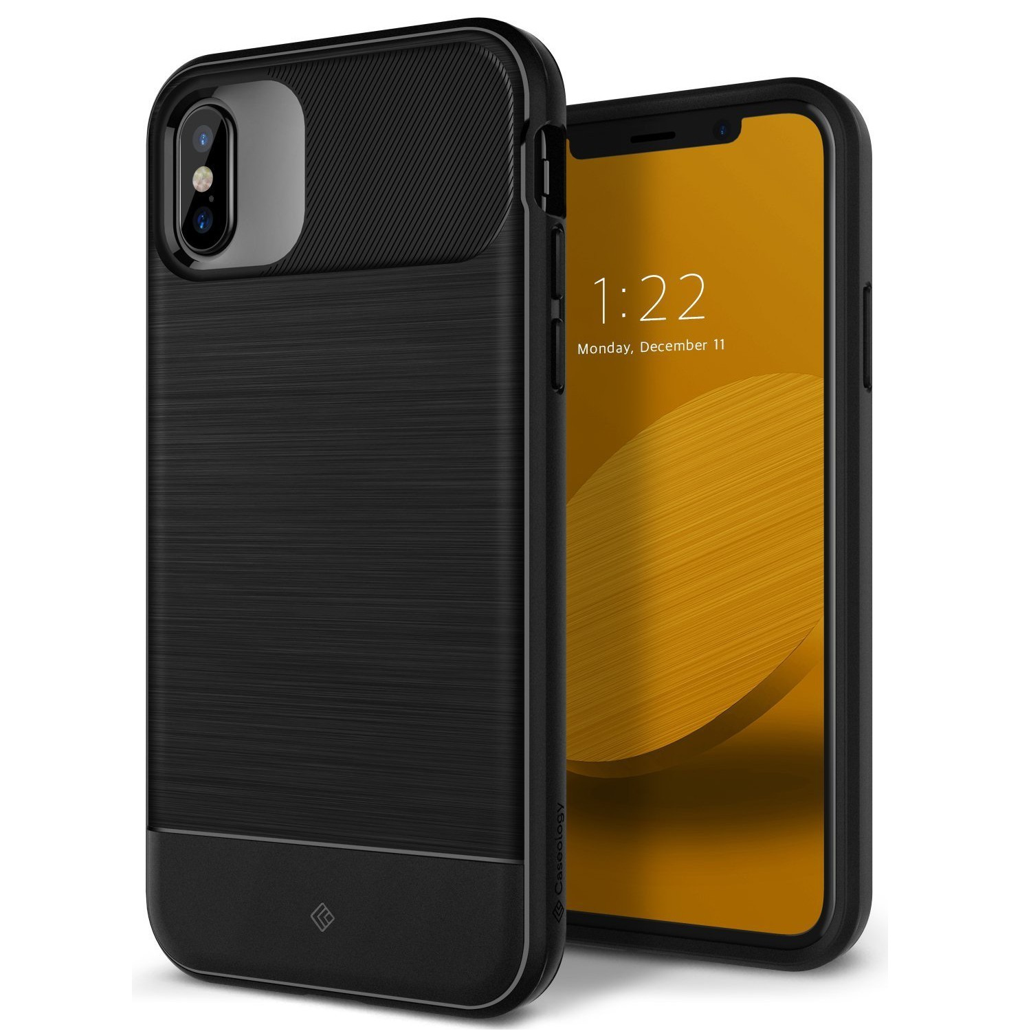 Ovitek Caseology Vault Series za iPhone X - black