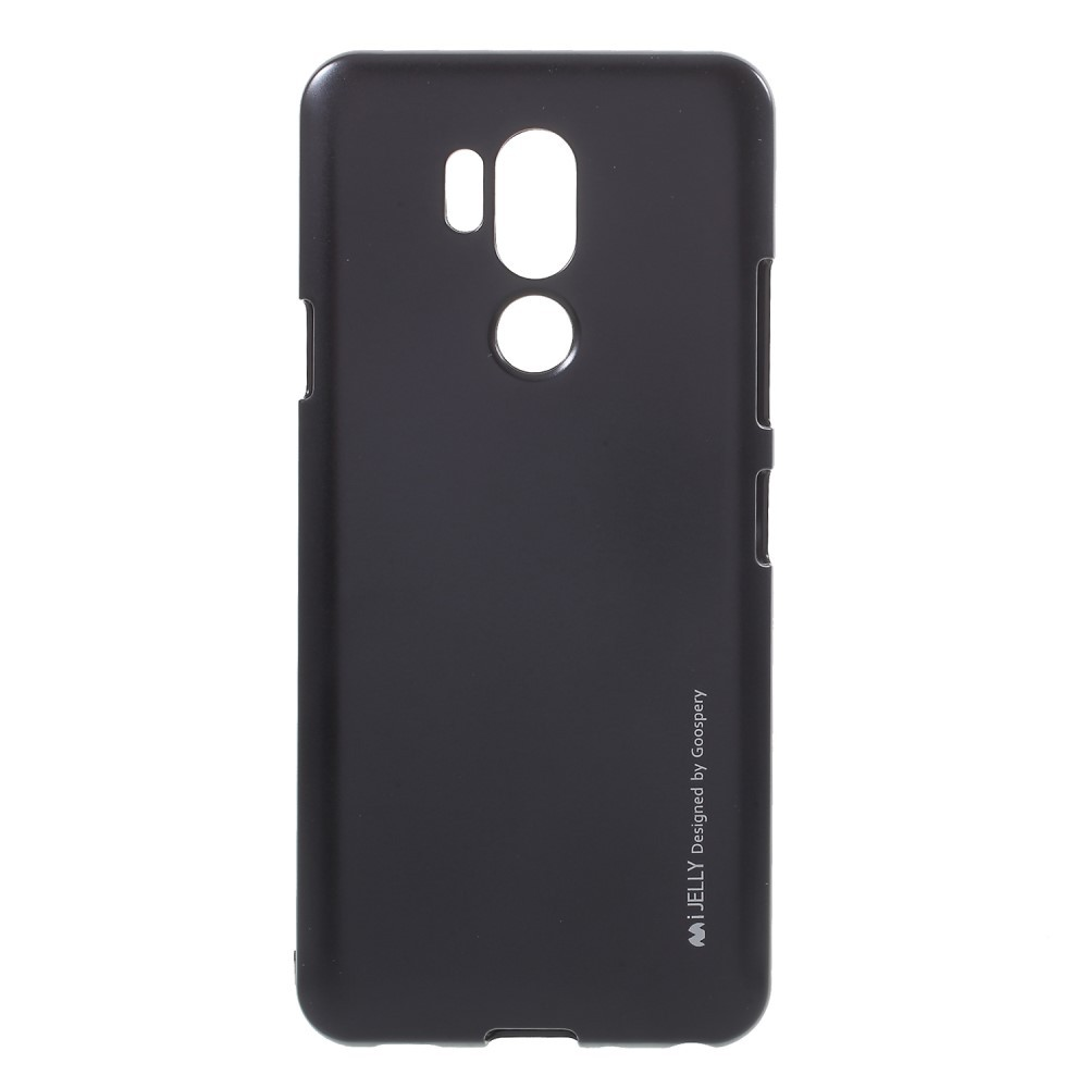TPU gel ovitek Goospery iJelly Case za LG G7 / G7 ThinQ - črn