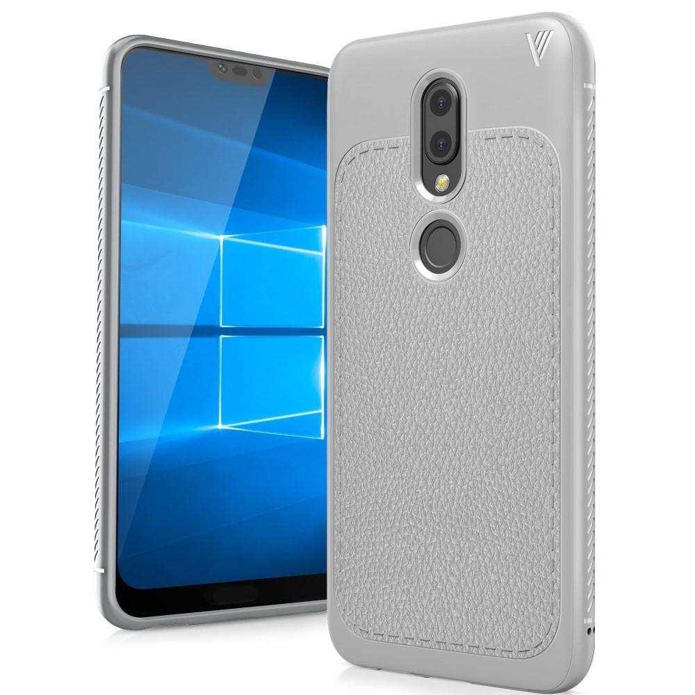 Tpu Gel Ovitek Gritty Za Nokia 61 Plus Siv