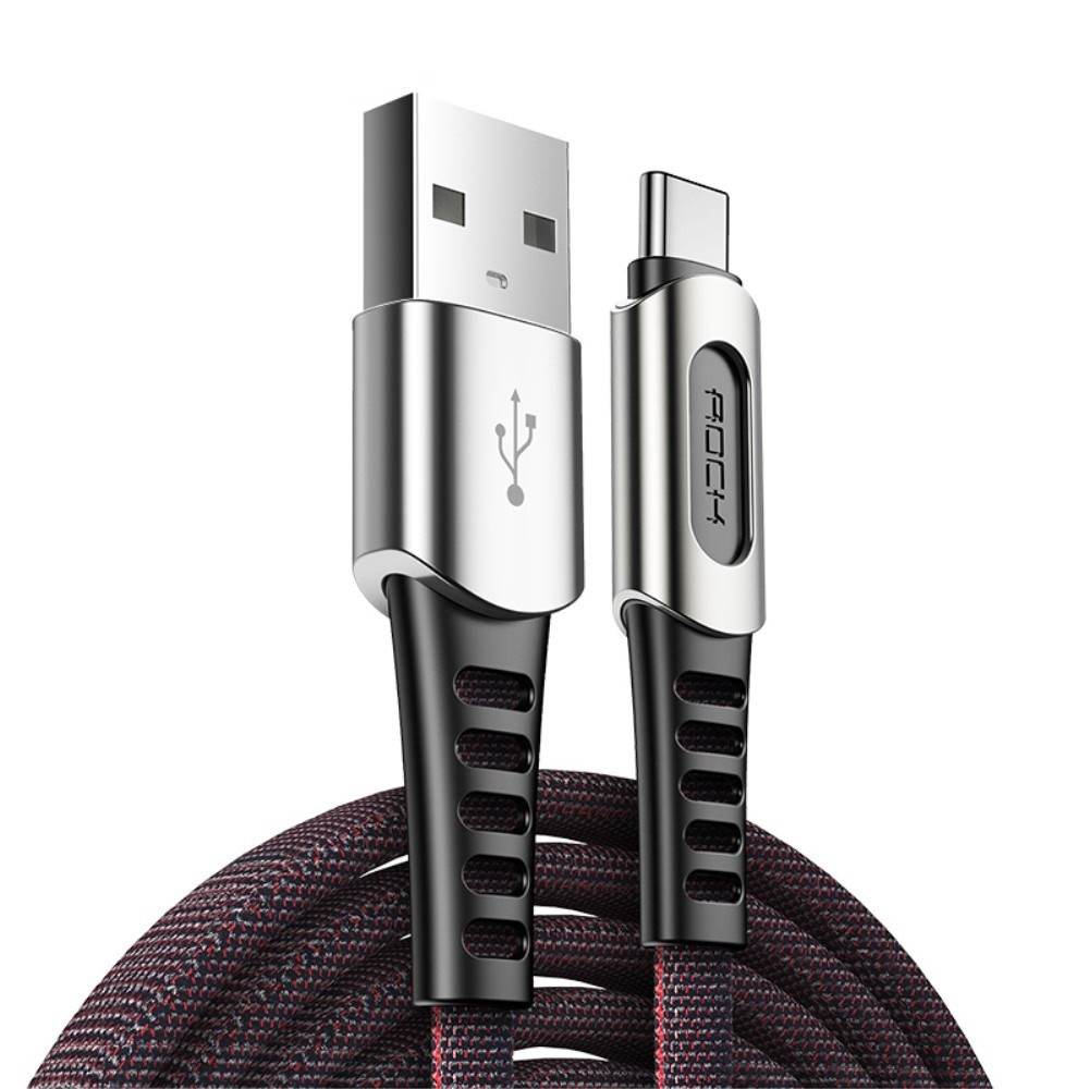 USB-C pleten kabel Rock