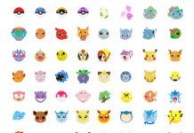 Pokemon go stickerji