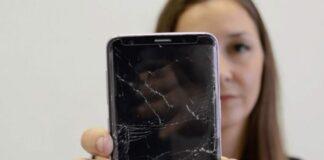 Zlomljen ekran Samsung Galaxy S10