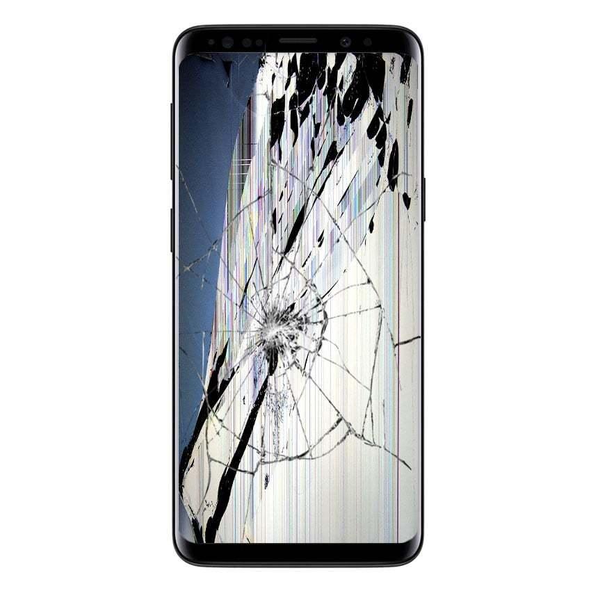 Zlomljen zaslon Samsung Galaxy S9