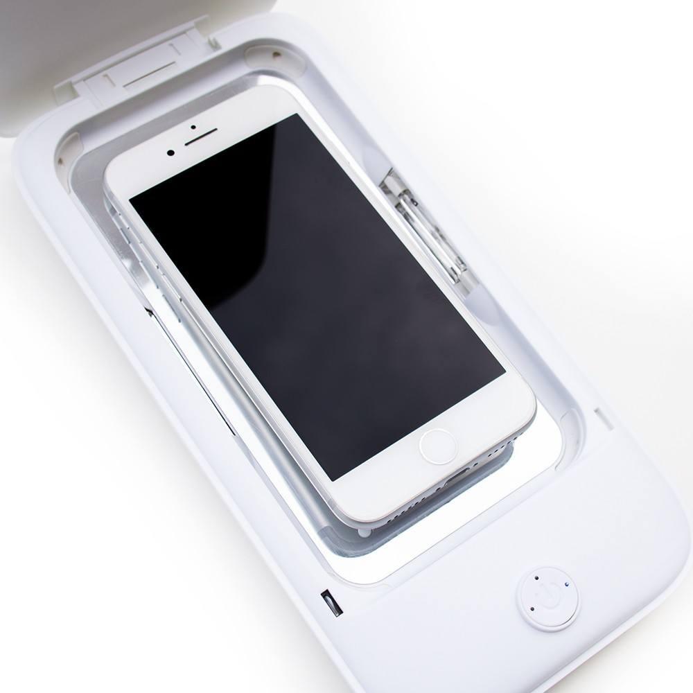 Optishield Sanitizer prenosni sterilizator odstrani bakterije na telefonu