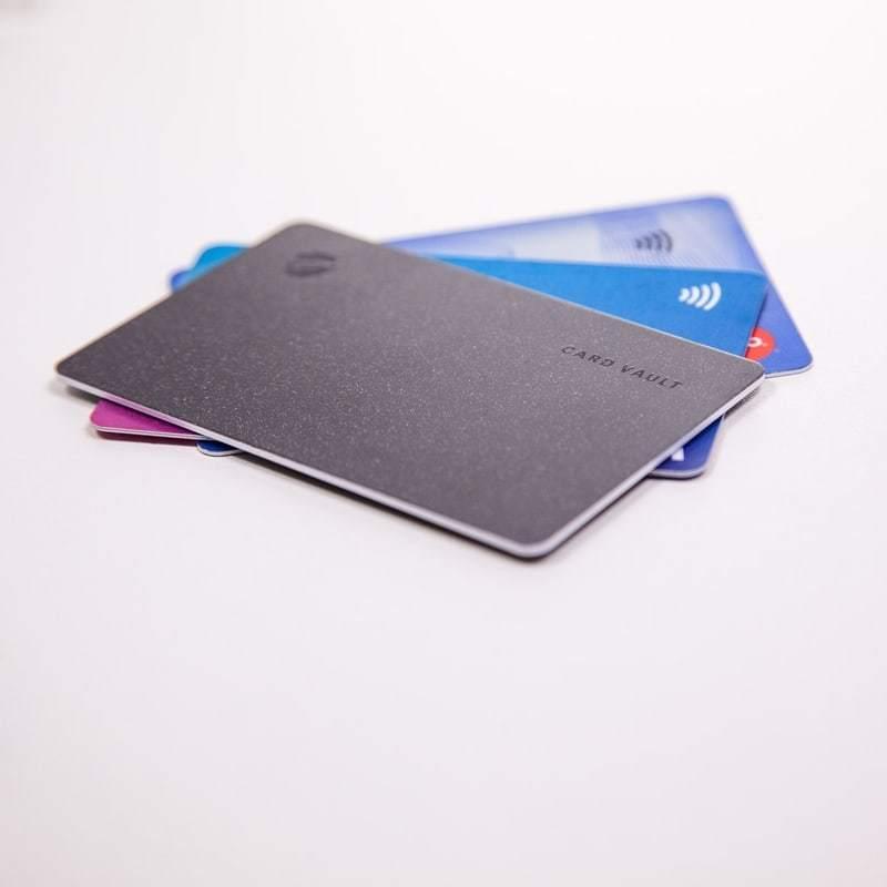 kopiranje kartic - card vault kartica