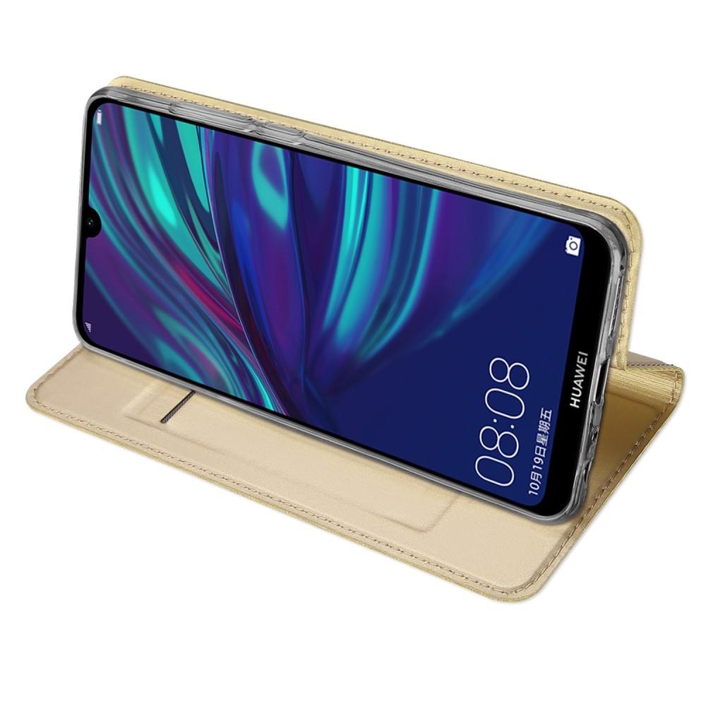 Etui za Huawei P Smart 2019 s pregibnim pokrovom za lažje gledanje