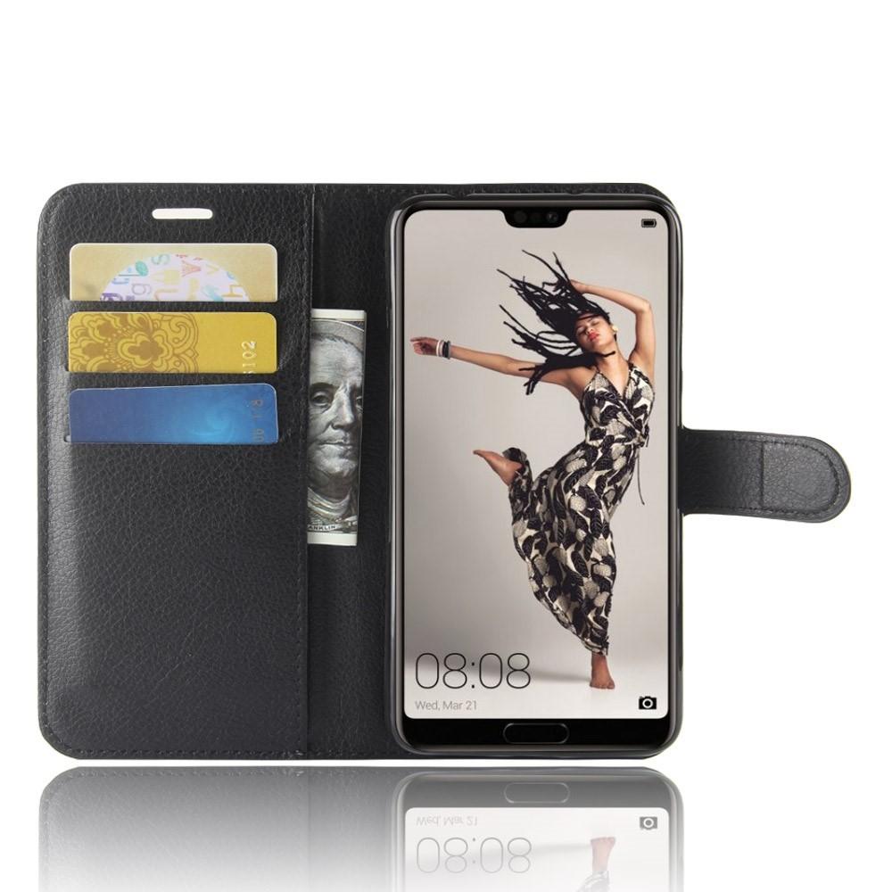 Etui za Huawei P20 Pro z režami za kartice in gotovino