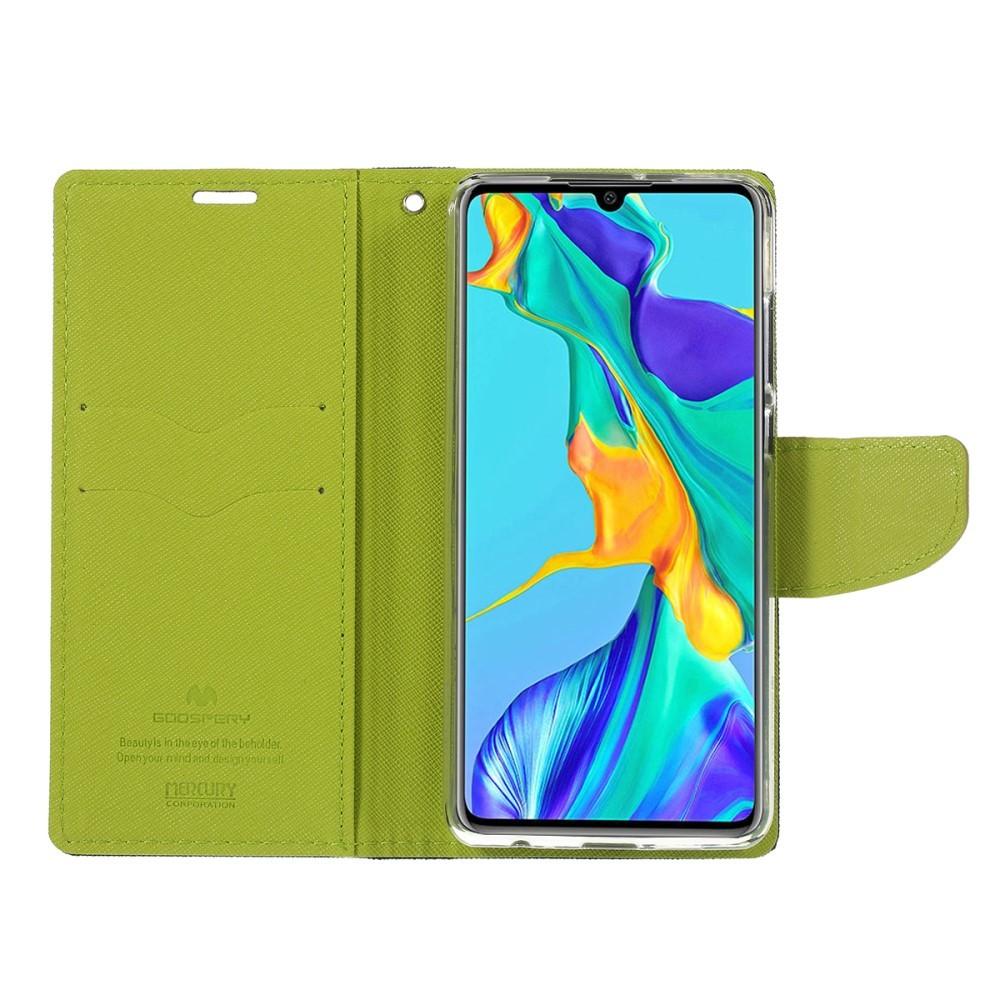 """Goospery """"Fancy Diary"""" etui za Huawei P30 s pregibnim pokrovom in funkcijo denarnice"""