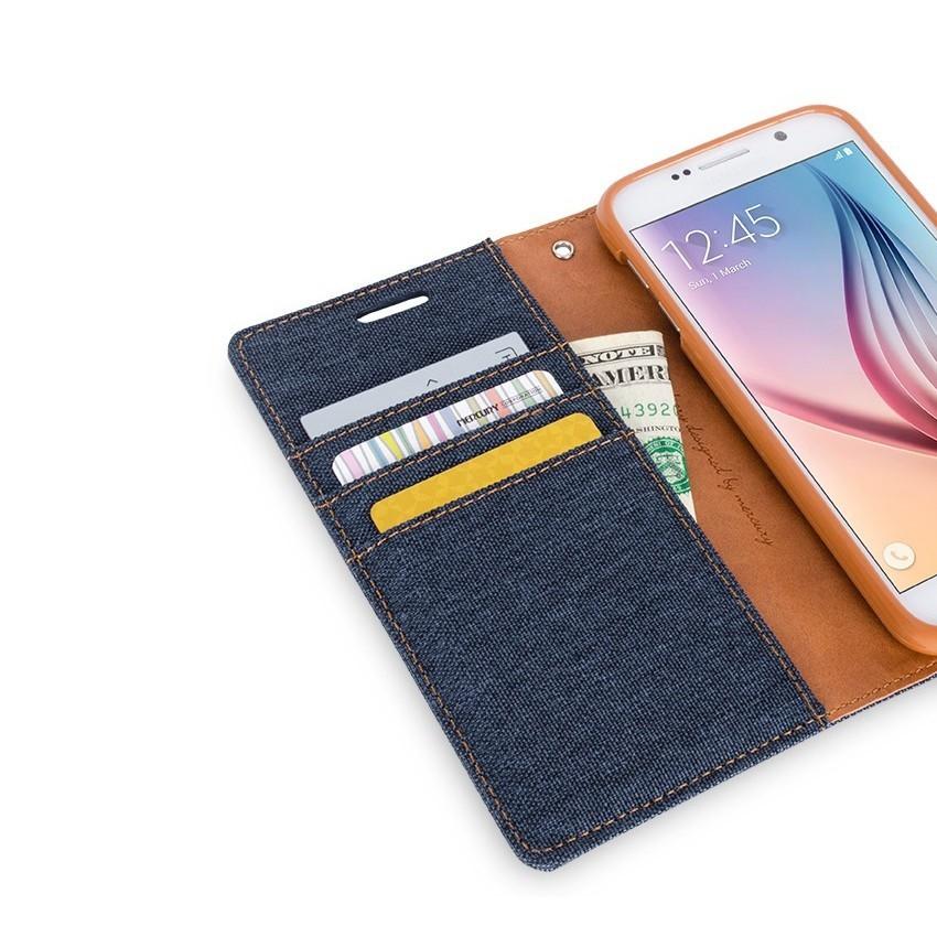 Etui za Samsung Galaxy S7 Edge z dodatnimi režami za kartice in gotovino