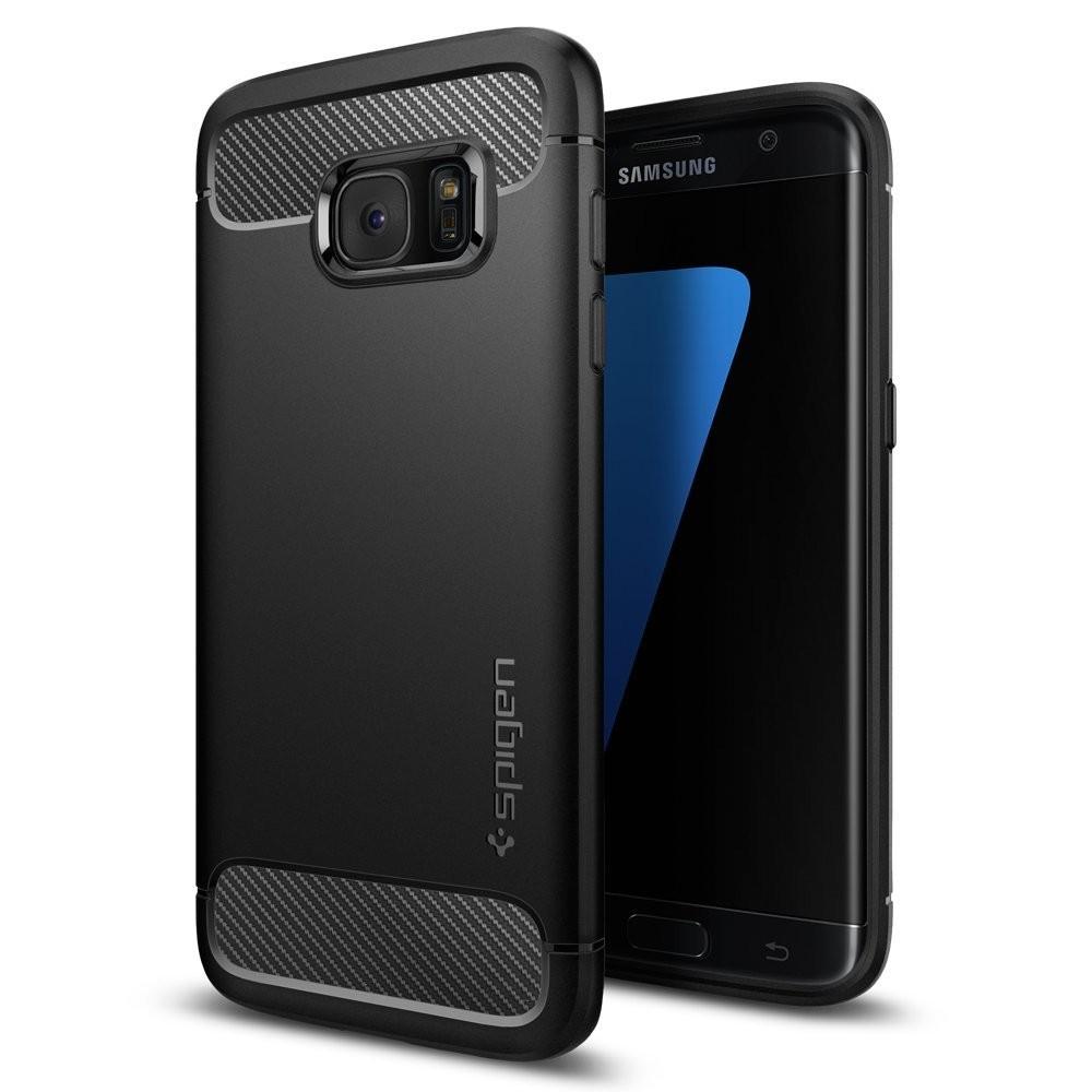 "Spigen ""Rugged Armor"" ovitek za Samsung Galaxy S7 Edge"