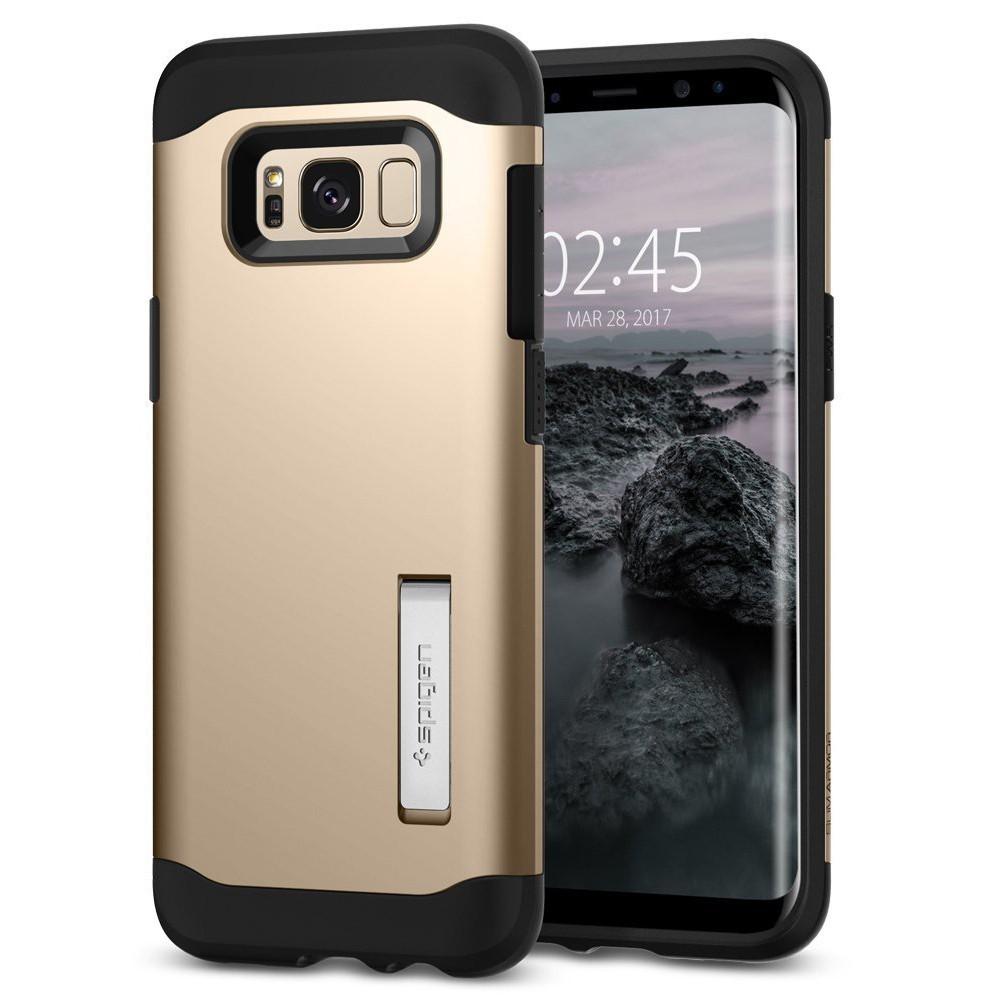 "Tanek a robusten ovitek za Samsung Galaxy S8 - Spigen ""Slim Armor"""