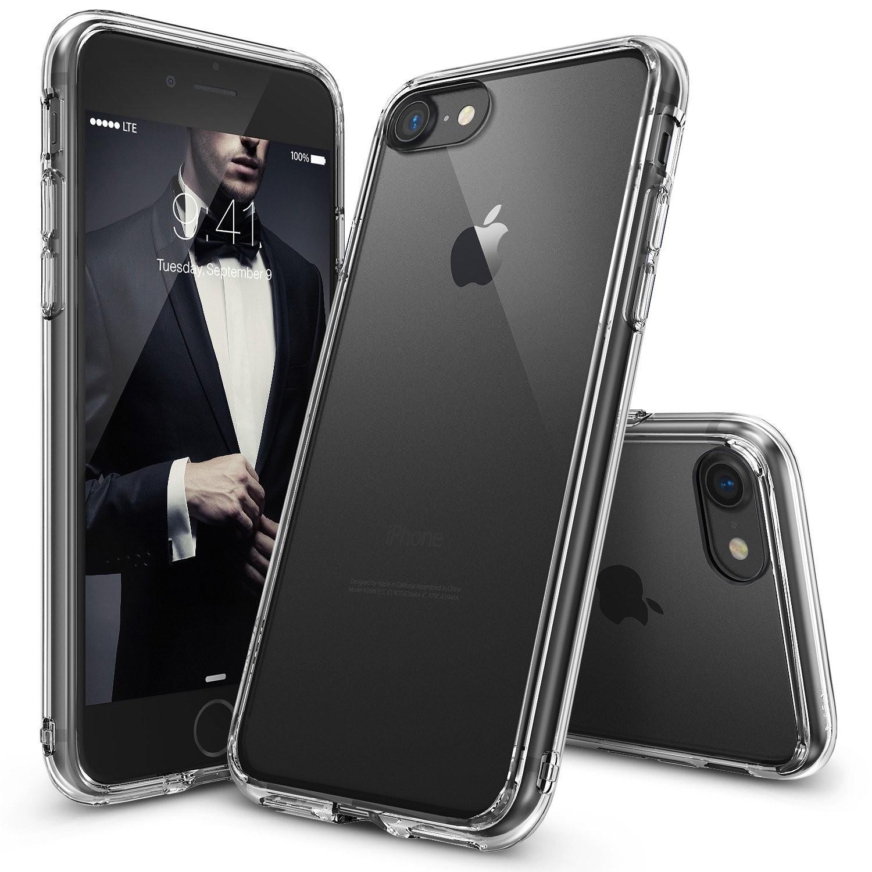 """Prozoren ovitek za iPhone 7 - Ringke """"Fusion"""""""