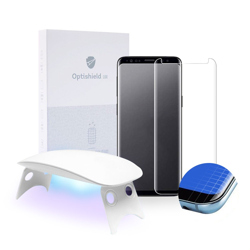 Optishield Lux ukrivljeno zaščitno steklo za Samsung Galaxy S8
